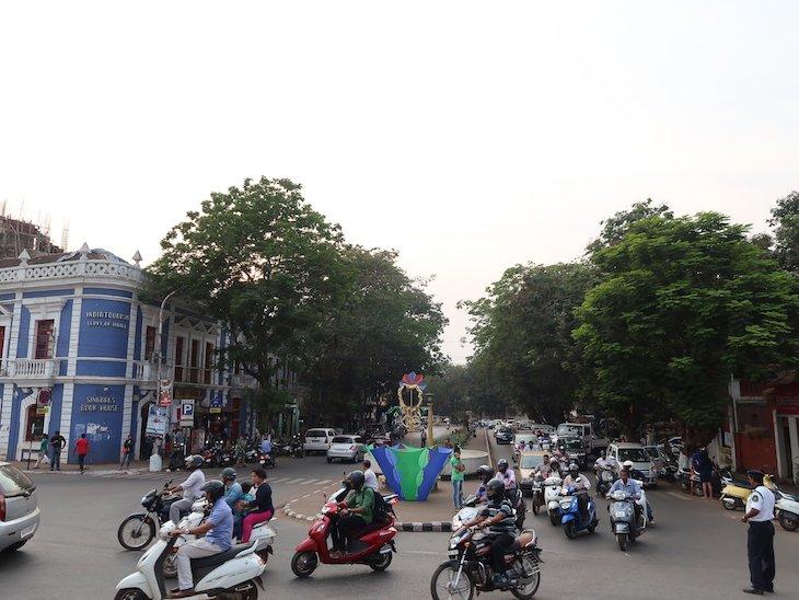 Centro Pangim - Goa - India © Viaje Comigo