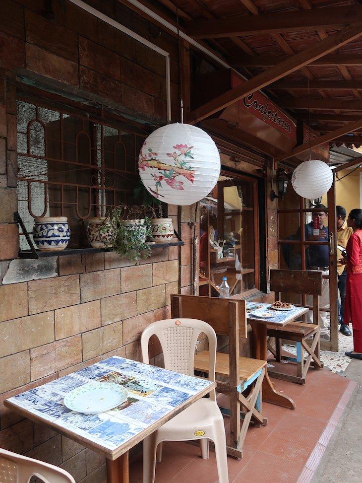 Confeitaria 31 de Janeiro em Goa - India © Viaje Comigo
