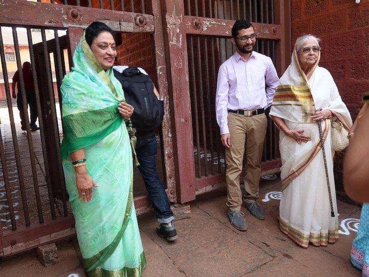 Familia real no Palácio Sawantwadi - Sindhudurg - India © Viaje Comigo