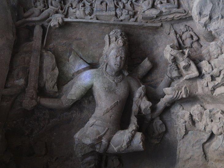 Grutas de Elephanta - Bombaim - India © Viaje Comigo