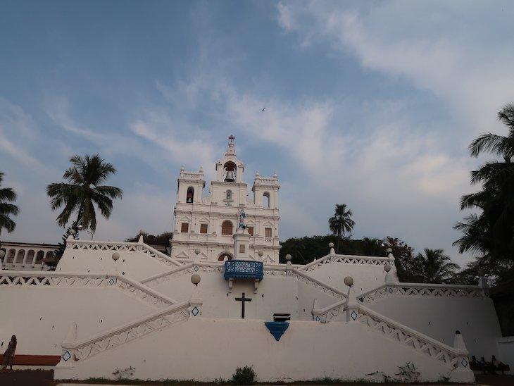 Igreja de Nossa Senhora da Imaculada Conceição - Goa - Índia © Viaje Comigo