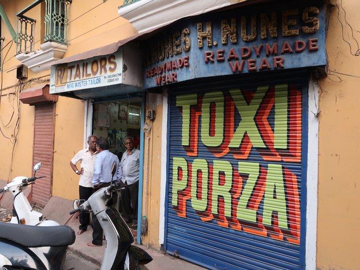 Loja Nunes em Goa, Índia ©Viaje Comigo