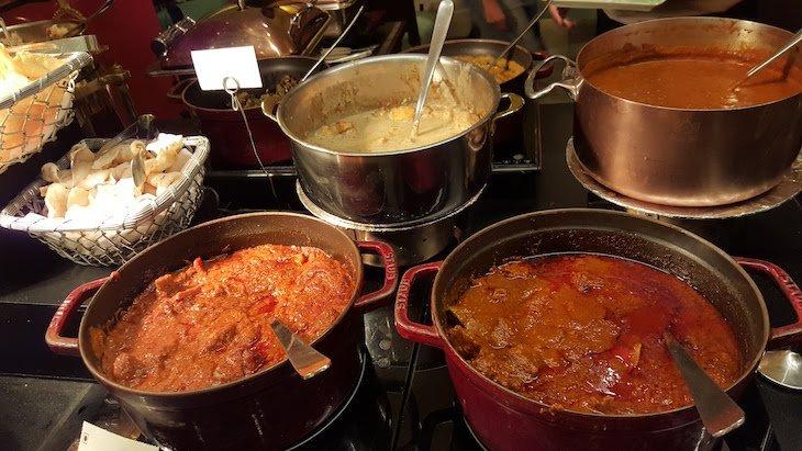 Restaurante Frangipani -Trident Nariman Point- Bombaim - India © Viaje Comigo