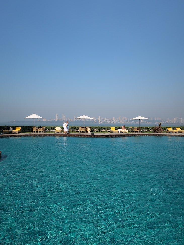 Piscina do Trident Nariman Point- Bombaim - India © Viaje Comigo