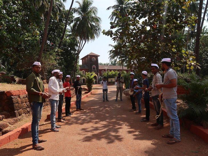 Receção no Palácio Sawantwadi - Sindhudurg - India © Viaje Comigo