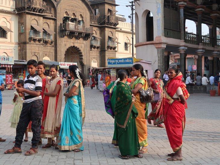 Sáris em Kolhapur - India © Viaje Comigo