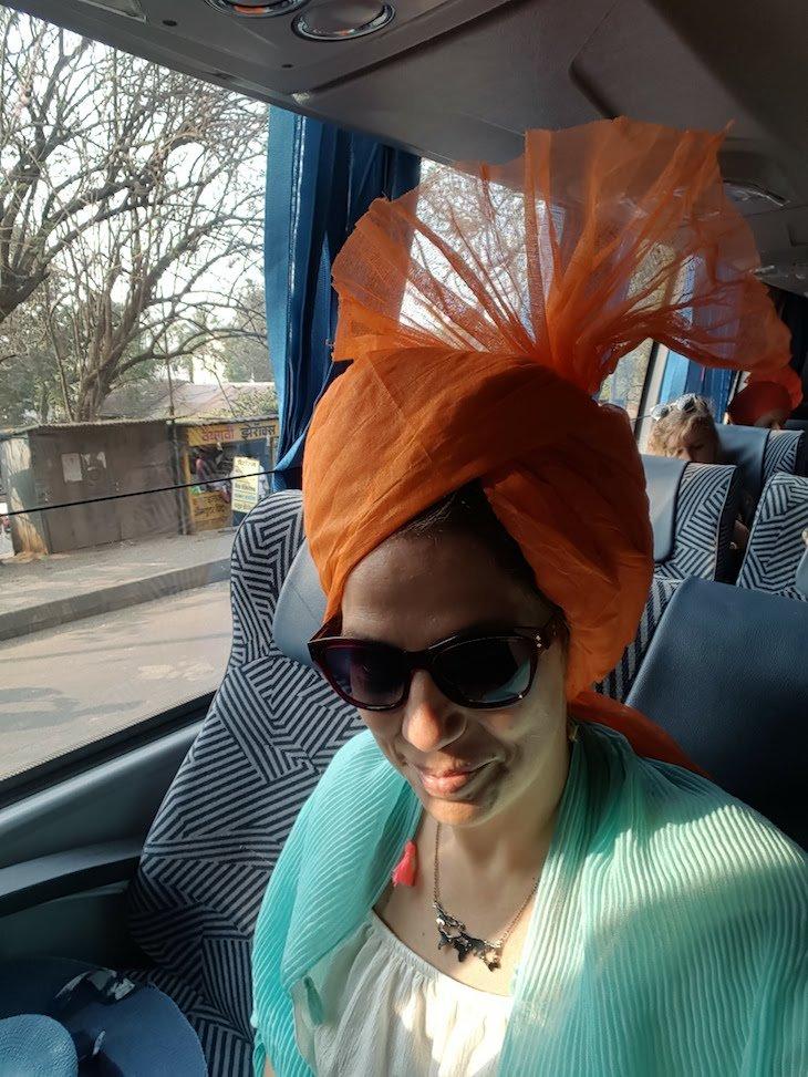 Susana com a Pheta - Kolhapur - India © Viaje Comigo