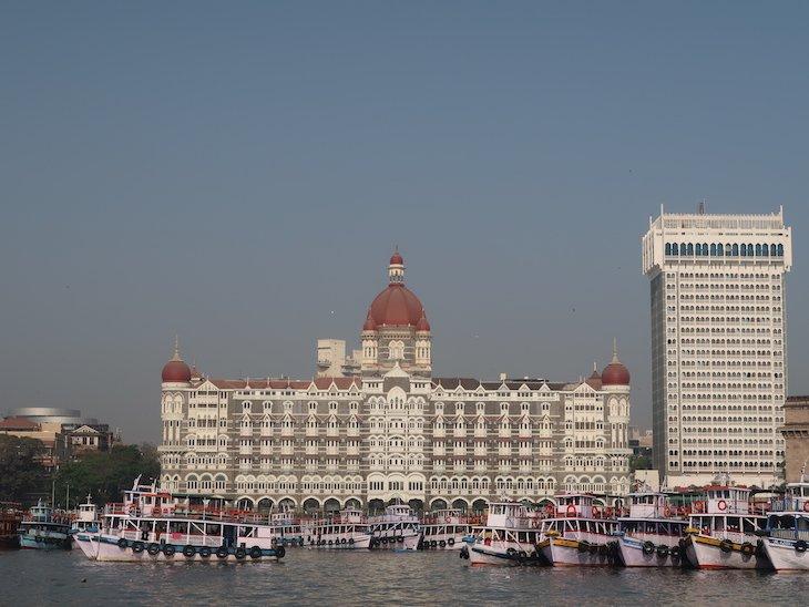 Taj Mahal Palace em Bombaim - India © Viaje Comigo