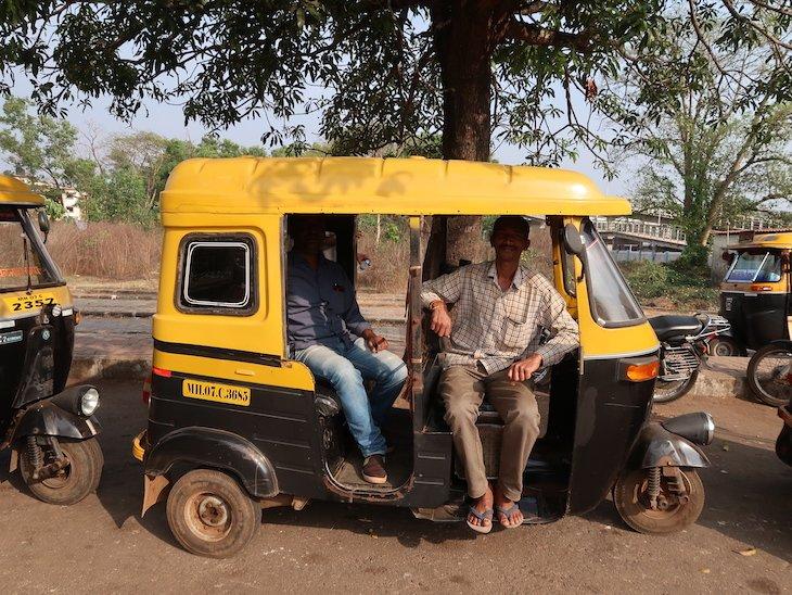 Tuk Tuk em Sindhudurg - India © Viaje Comigo