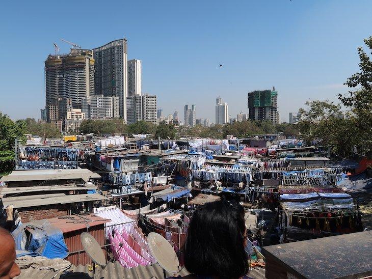 Lavandaria Dhobi Ghat - Bombaim - Índia © Viaje Comigo