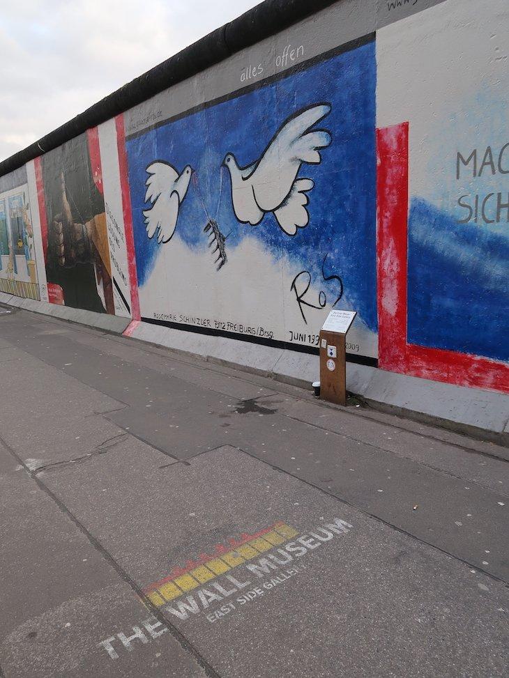 East Side Gallery - Muro de Berlim © Viaje Comigo