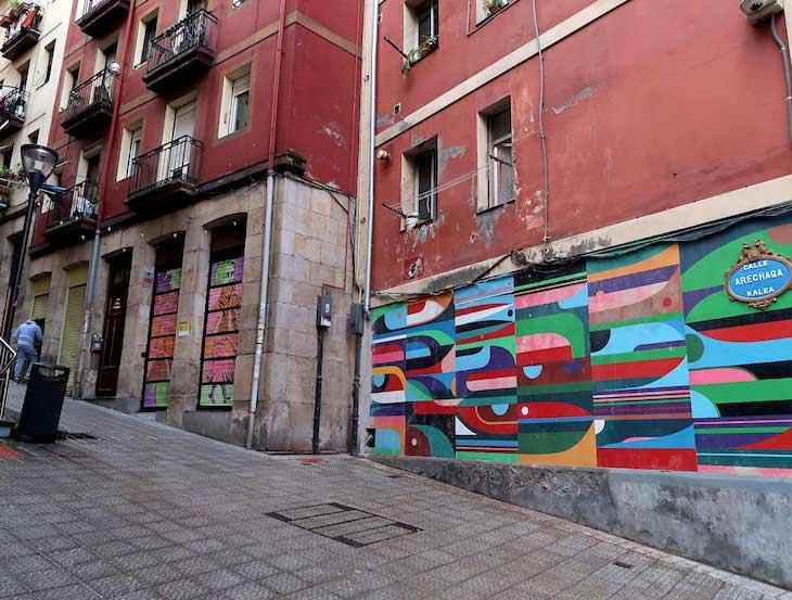 Arte urbana em Bilbau, País Basco © Viaje Comigo