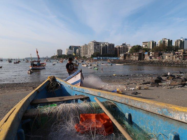 Porto de pesca em Bombaim - Índia © Viaje ComigoPorto de pesca em Bombaim - Índia © Viaje Comigo