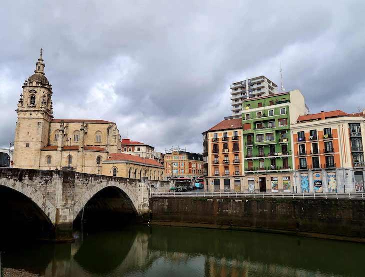 Centro histórico de Bilbau, País Basco © Viaje Comigo