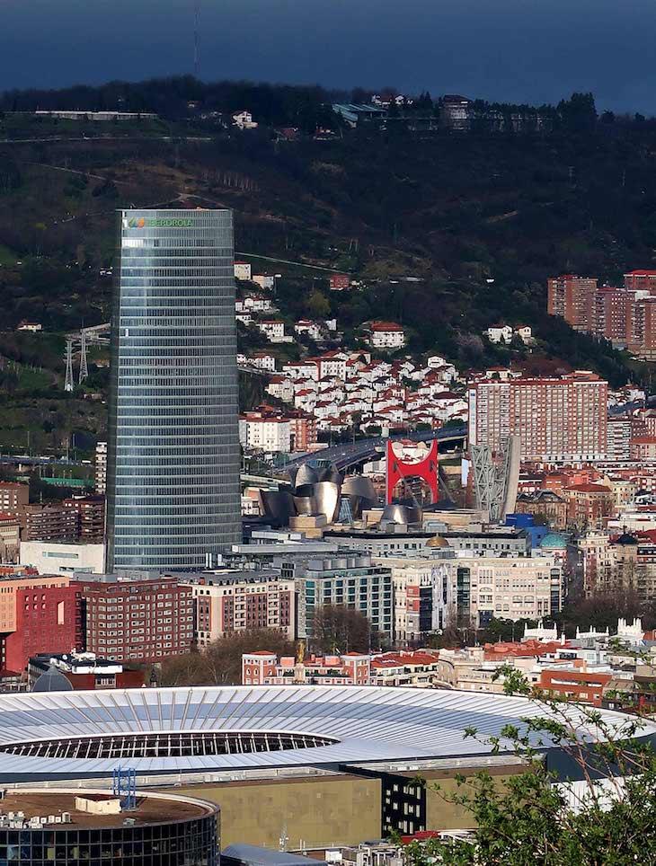Cidade de Bilbau e Museu Guggenheim Bilbao, Bilbau © Viaje Comigo