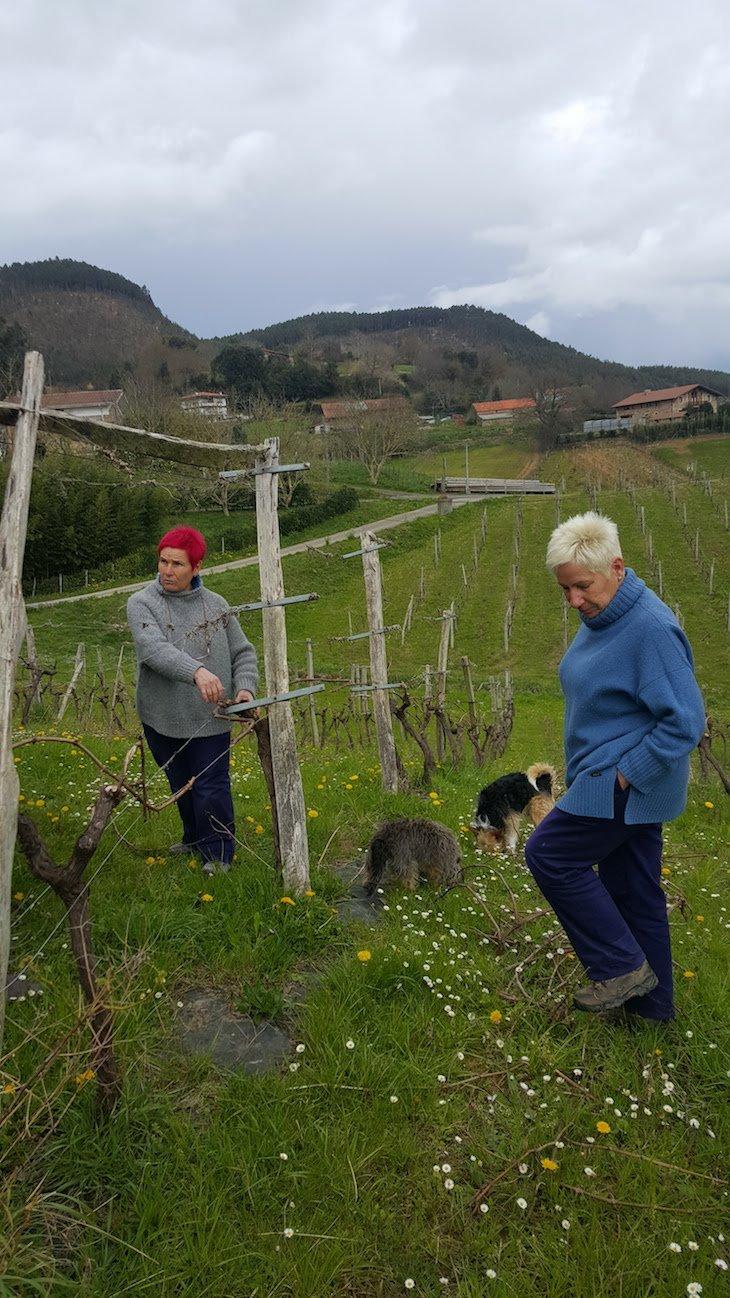 Irmãs da Bodega Ados - País Basco © Viaje Comigo