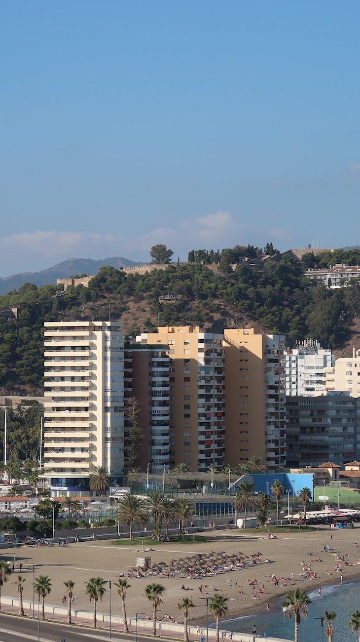 Vista para Málaga - MSC Magnifica © Viaje Comigo