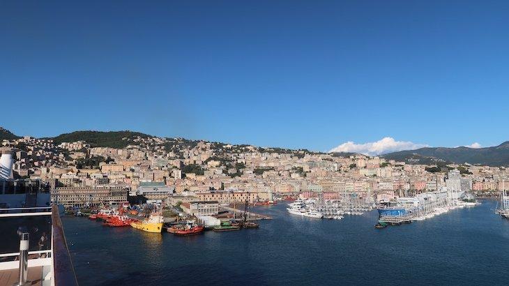 Vista para Génova - Itália © Viaje Comigo