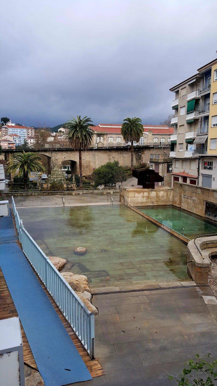 Termas As Burgas, Ourense, Espanha © Viaje Comigo