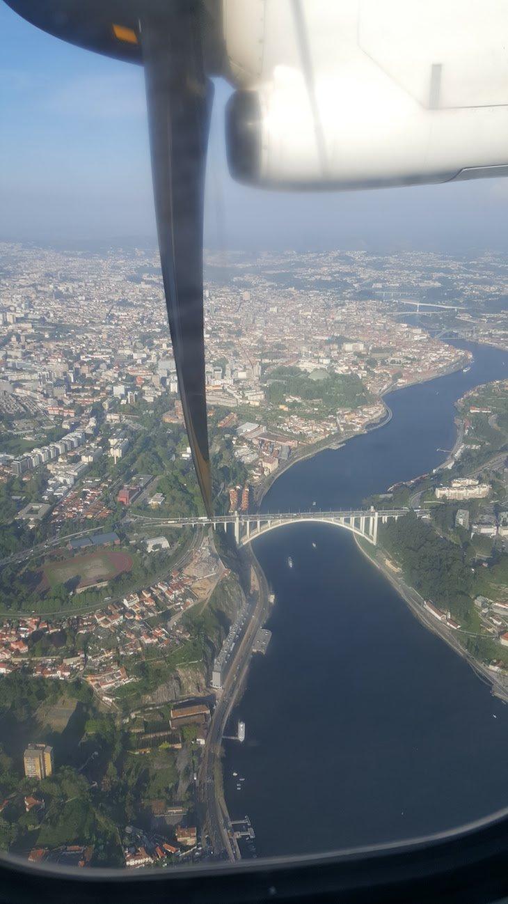 A voar sobre o Porto com a Ponte Aérea da TAP © Viaje Comigo