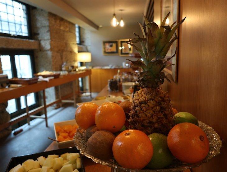 Pequeno-almoço do Santa Luzia ArtHotel - Guimaraes © Viaje Comigo
