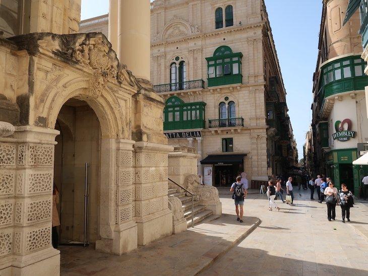 Ruas de La Valetta - Malta © Viaje Comigo.