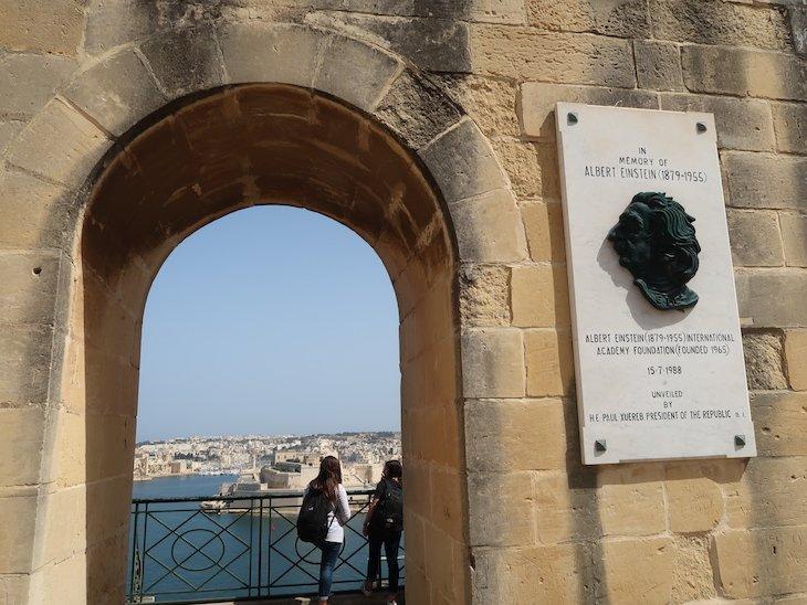Jardins Barrakka - La Valetta - Malta © Viaje Comigo