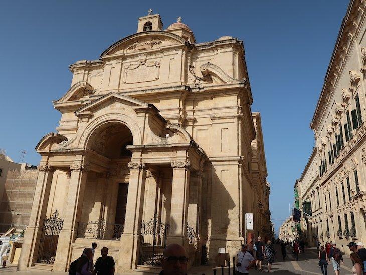Igreja em La Valetta - Malta © Viaje Comigo