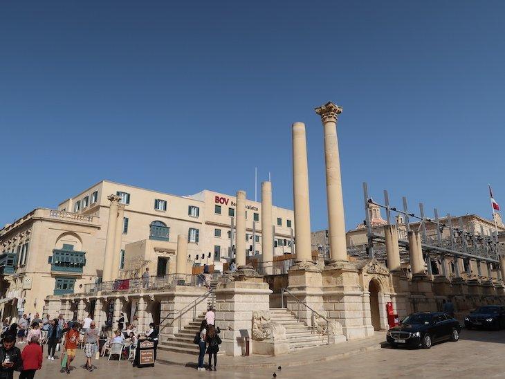 Teatro em La Valetta - Malta © Viaje Comigo