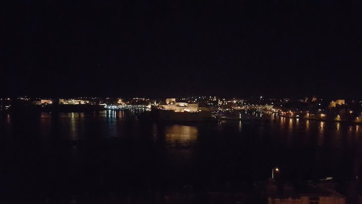 Vista do Restaurante Panorama - La Valetta - Malta © Viaje Comigo