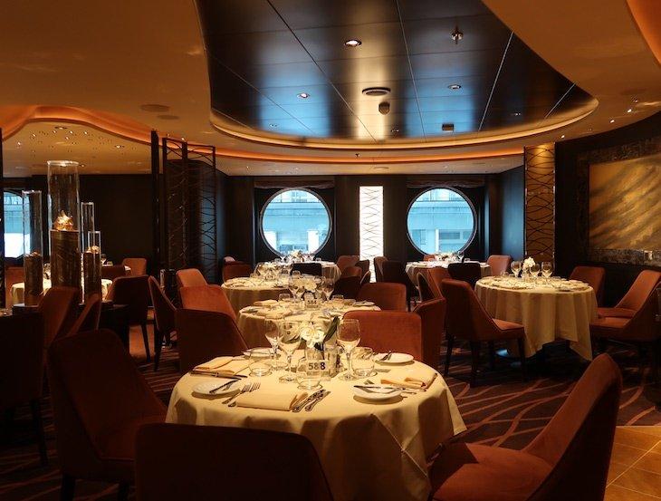 Restaurante Golden Sand - MSC Seaview © Viaje Comigo