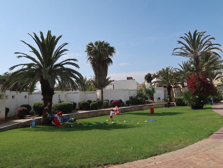 Mini Cub Med ao ar livre - Agadir - Marrocos © Viaje Comigo
