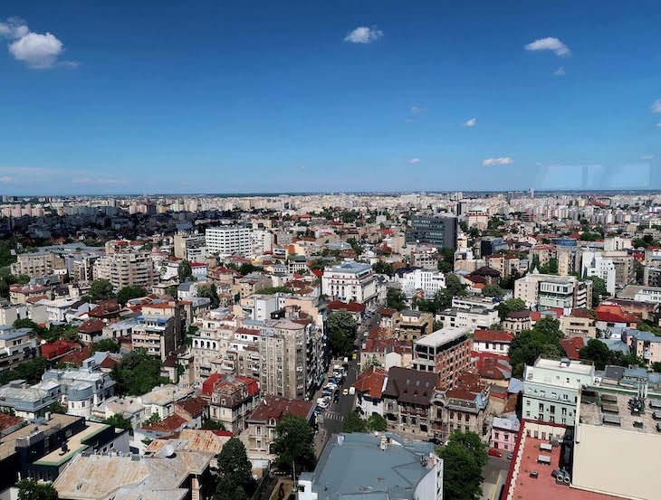 Vista do Intercontinental Hotel Bucharest - Roménia © Viaje Comigo