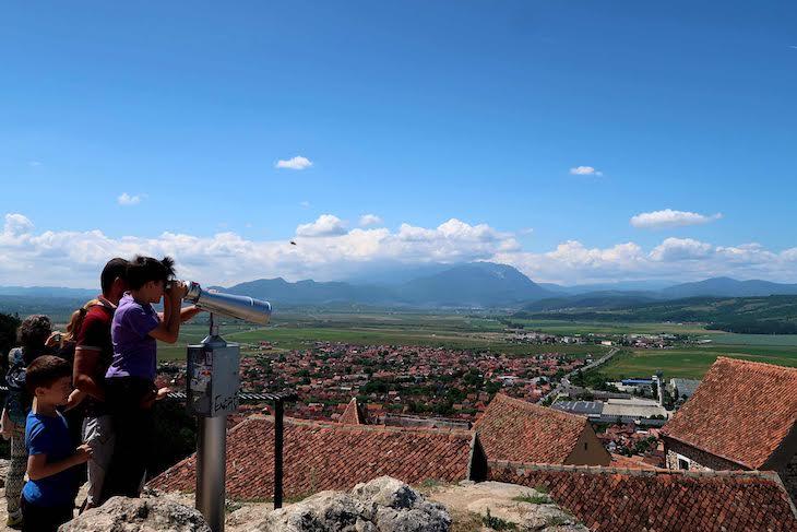 Topo da cidadela de Rasnov - Transilvânia - Roménia © Viaje Comigo