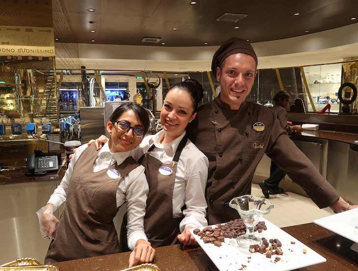 Chocolate Bar - MSC Seaview © Viaje Comigo