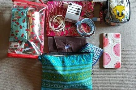 Bolsas de viagem para voos longos © Viaje Comigo