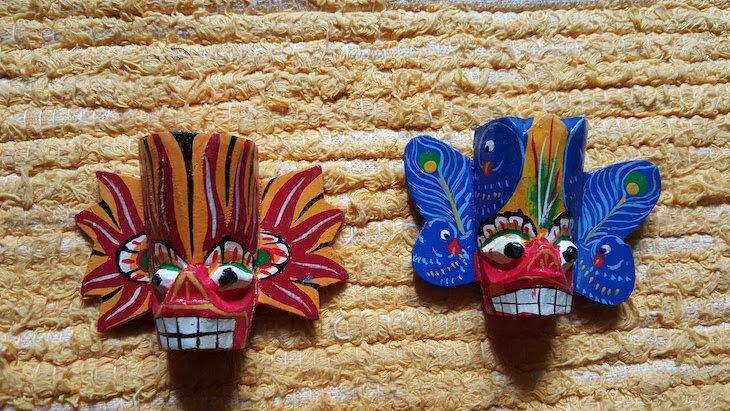 Máscaras - Sri Lanka © Viaje Comigo