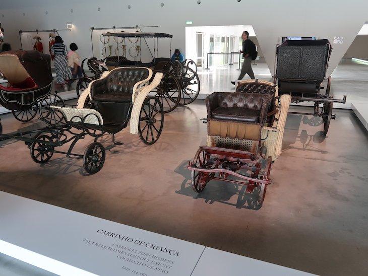 Carrinhos de criança - Museu Nacional dos Coches - Lisboa © Viaje Comigo