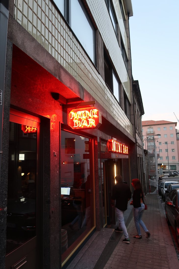Entrada do Mini Bar Porto, do José Avillez © Viaje Comigo