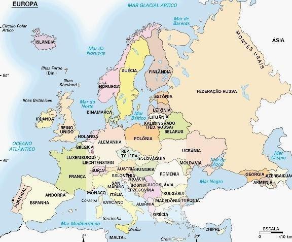 Portugal na Europa - DR