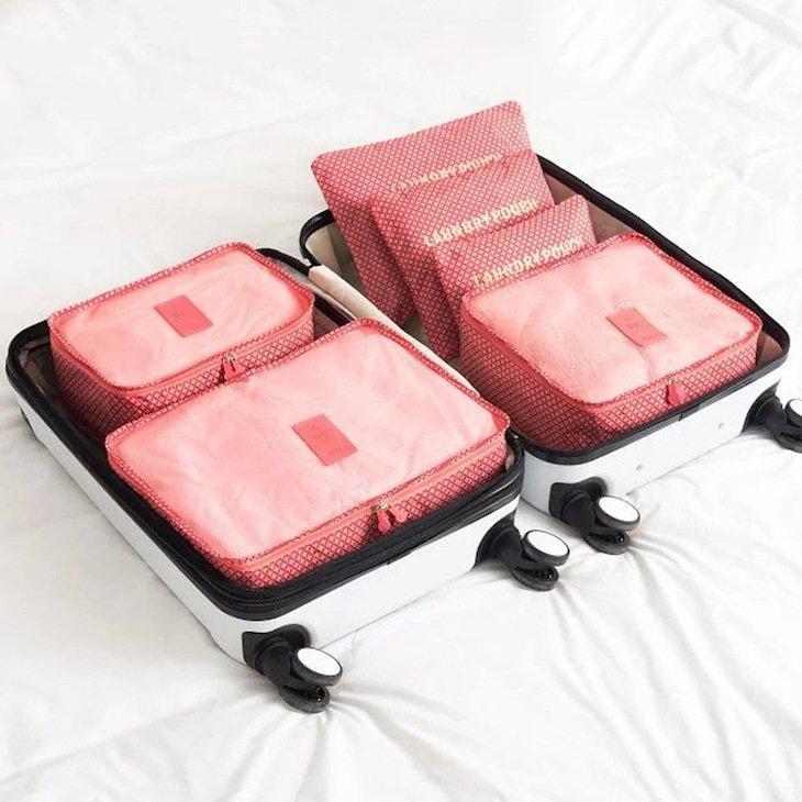 Organizadores rosa © Aliexpress