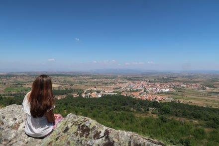 Vista para Figueira de Castelo Rodrigo - Portugal © Viaje Comigo