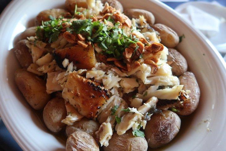 Almoço no restaurante Escaroupim, Salvaterra de Magos © Viaje Comigo