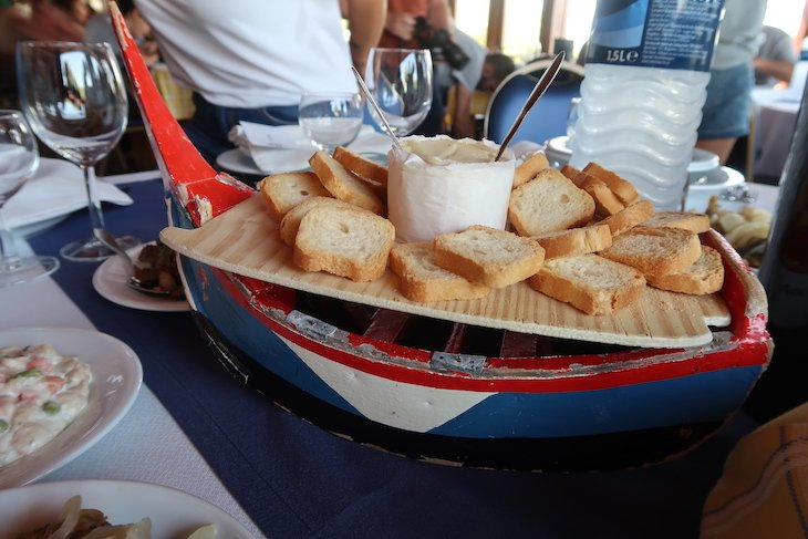 Restaurante Escaroupim em Salvaterra de Magos, Santarém © Viaje Comigo