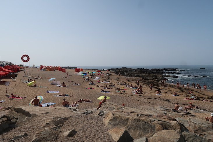 Praia do Homem do Leme Porto - Portugal © Viaje Comigo