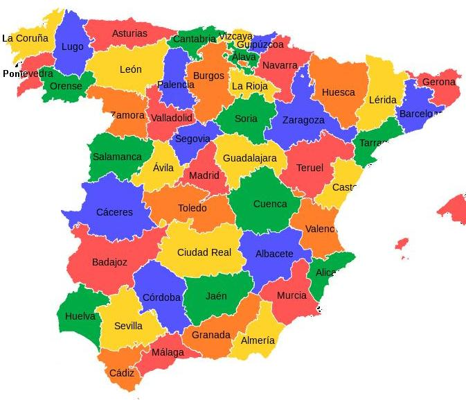 Províncias de Espanha