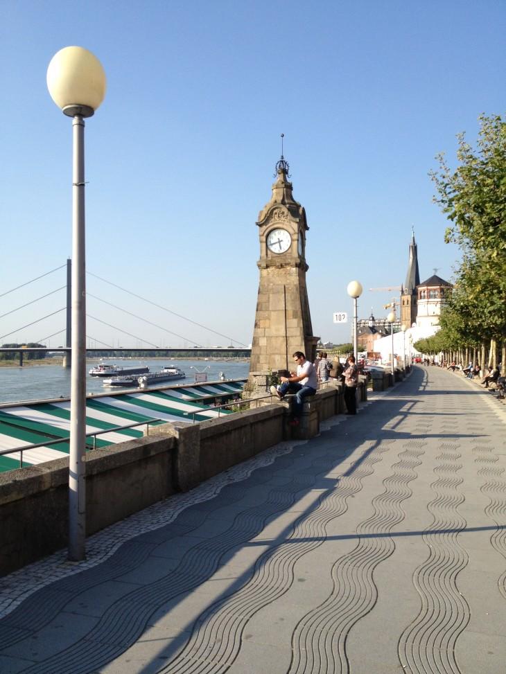Beira-rio de Düsseldorf