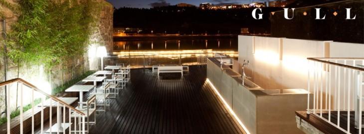 Esplanada do Gull à noite