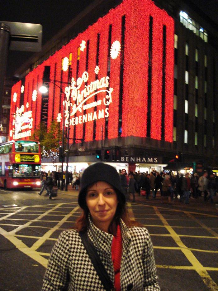Daniela Pinto em Londres