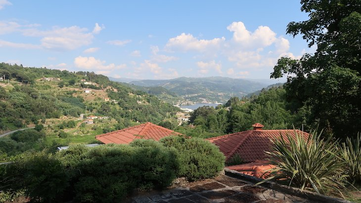 Vista do Douro - Quinta da Bouça Agroturismo- Marco Canaveses - Portugal © Viaje Comigo